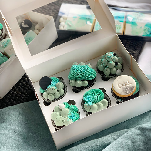6pk Cupcake Box