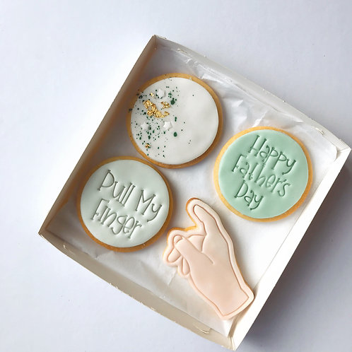 'Pull My Finger' Cookie Box