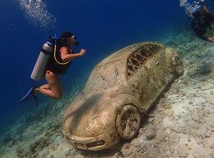 Diving for beginners in musa an arrecife manchones
