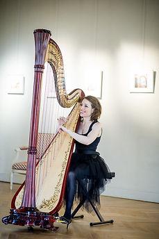 Harpiste | Elen Hervochon