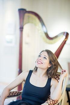Elen Hervochon, Harpiste