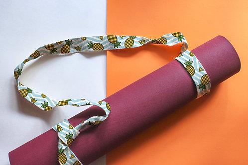 Yo Dog Yoga Strap - Pineapple