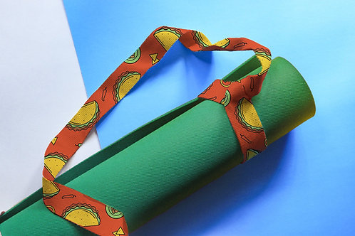 Yo Dog Yoga Strap - Taco