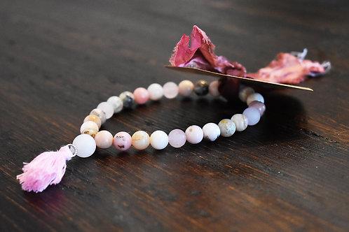 GlitterZen ROSEWOOD & HOWELITE Bracelet