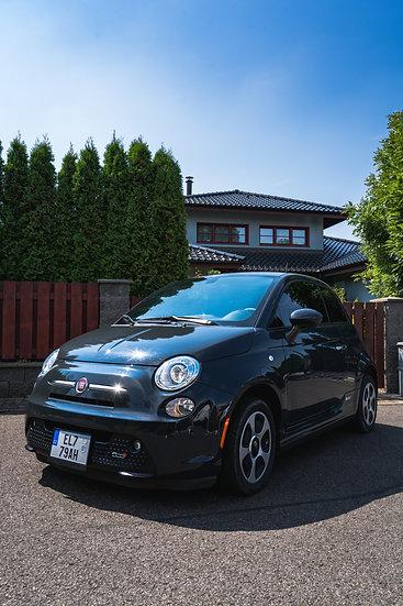 Fiat 500e tmavě šedý