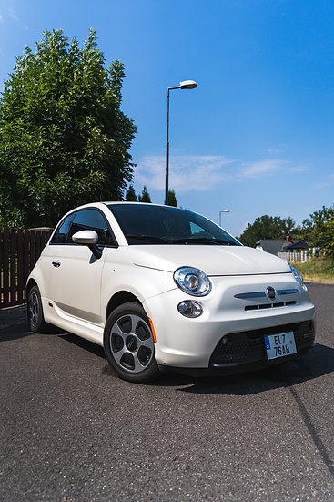 Fiat 500e bílý