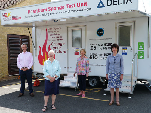 Mobile unit offers game-changing test for cancer risk