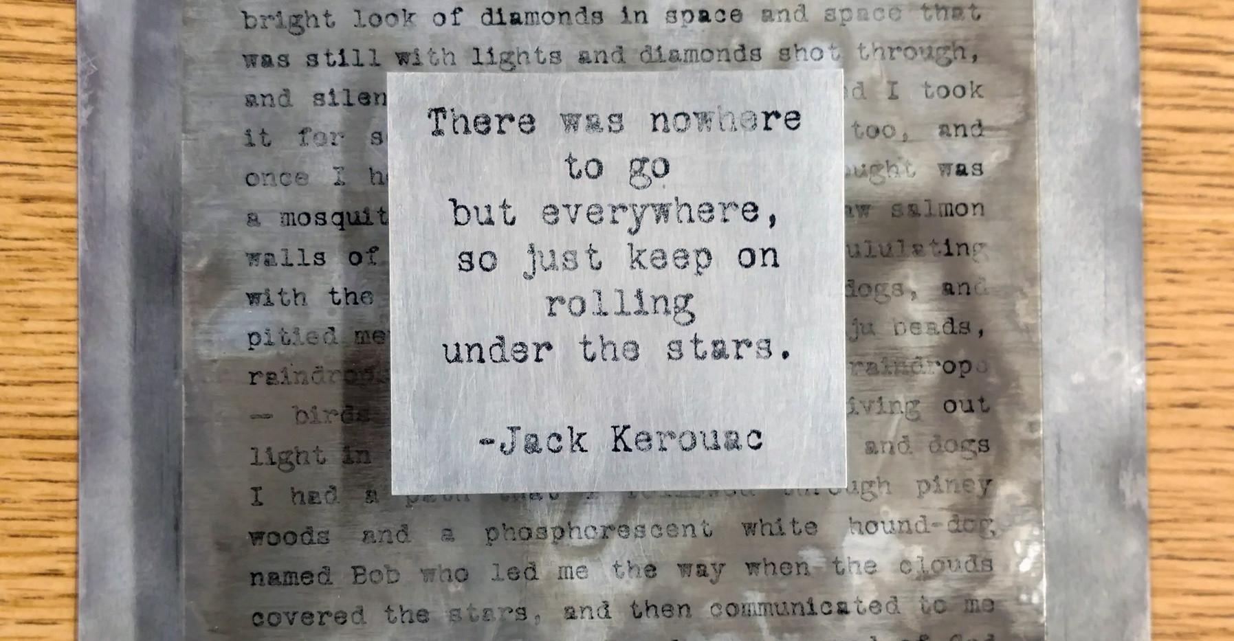 Kerouac #1 v.1  $50/SOLD