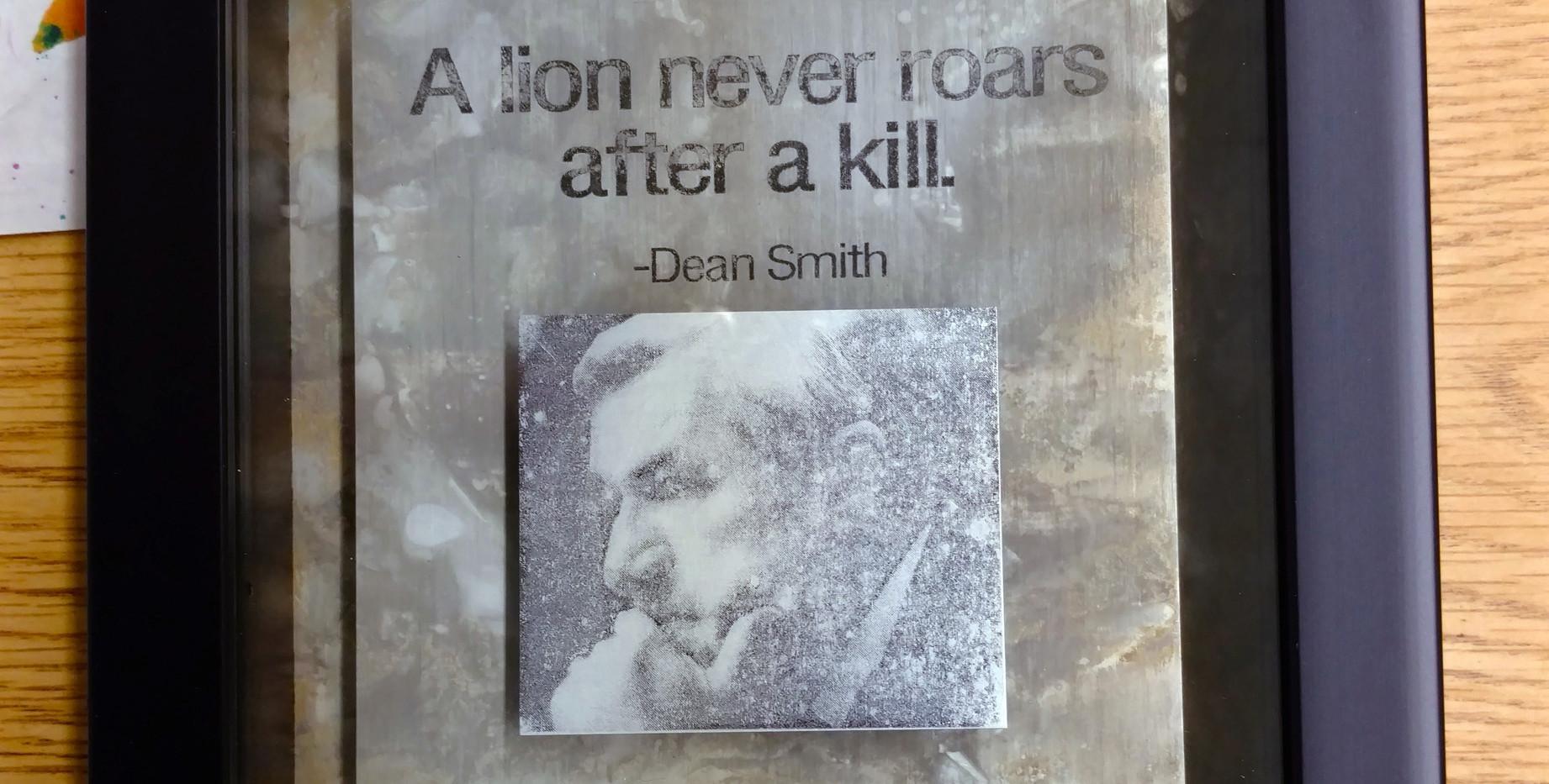 Dean v.1 #1/framed  $50/SOLD