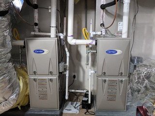 Carrier Performance Series 2 Stage Furnaces