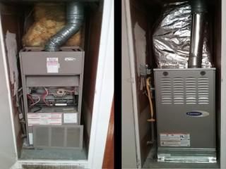 Carrier 80% Furnace Replacement