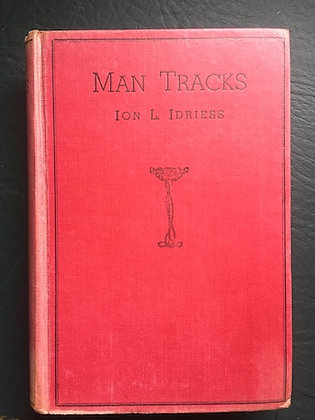 Man Tracks - 1935 1st edition, No DJ