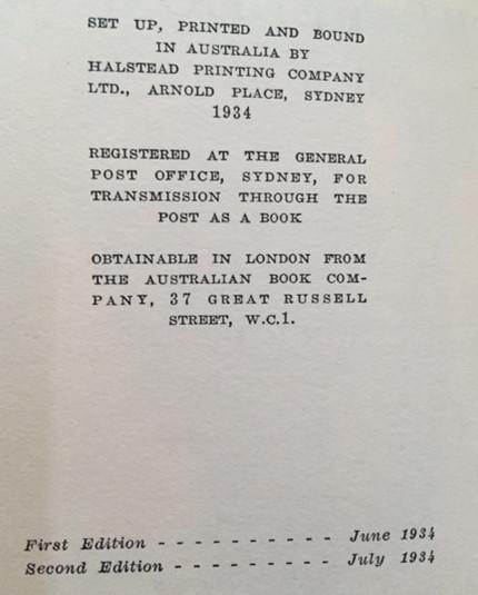 Identifying First Edition Idriess Books