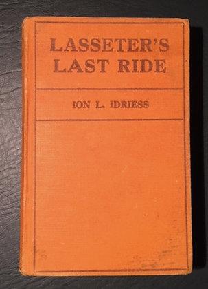 Lasseter's Last Ride  3rd ed, no DJ