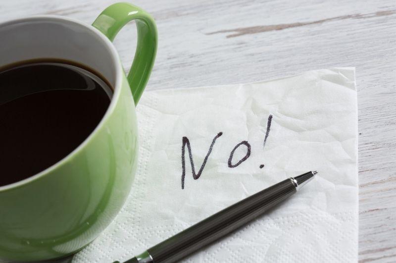 naučiť sa hovoriť nie