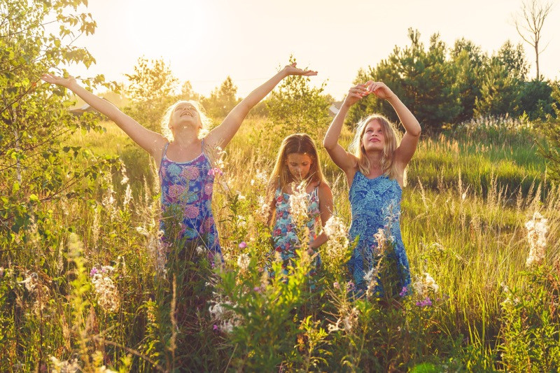 všímavé letné aktivity pre deti