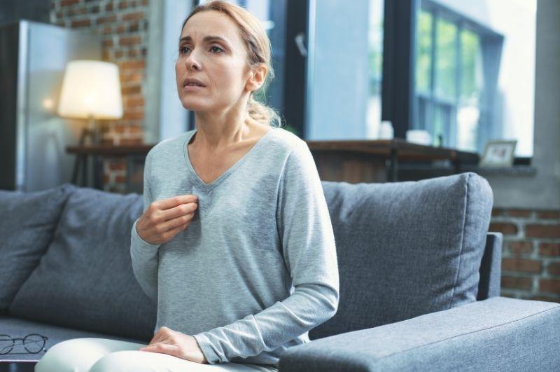 prejavy úzkosti