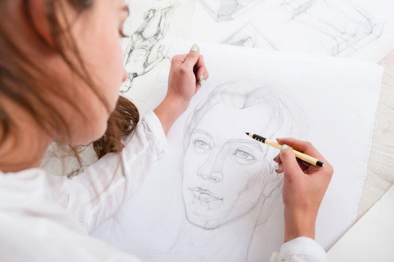 všímavé mindfulness kreslenie