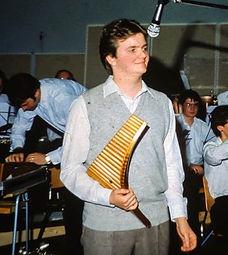 Young Roar Engelberg soloist wth brass band