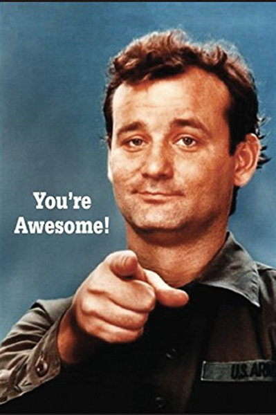 You're Awesome! - Fridge Magnet