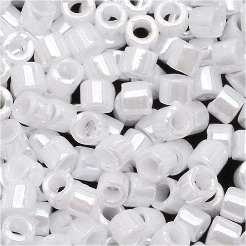 Miyuki Delica 10/0 - White Pearl 7.2g