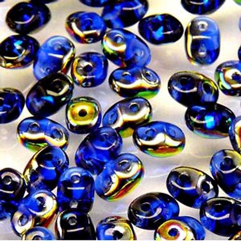Matubo Superduo Beads - Saphire Vitrail