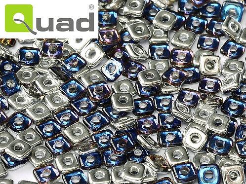 Quad Glass Beads 4mm