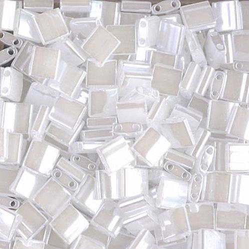 Miyuki Tila Beads 5mm - Crystal Ceylon 10g