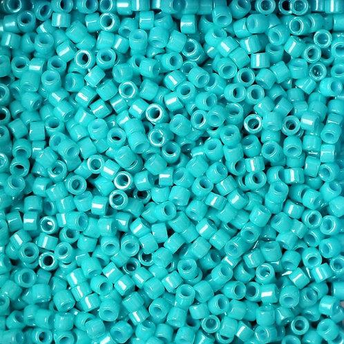 Miyuki Delica 11/0 - Dyed Opaque Turquoise Green