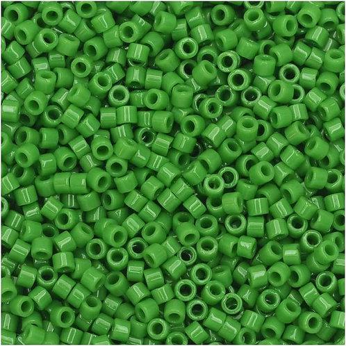 Miyuki Delica 11/0 - Opaque Pea Green 7.2g