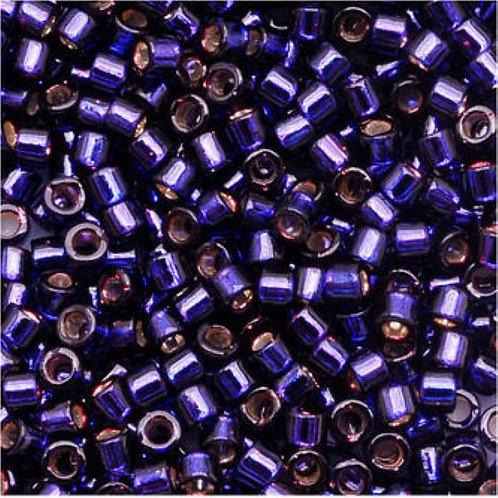 Miyuki Delica 11/0 - Silver Lined Dark Purple
