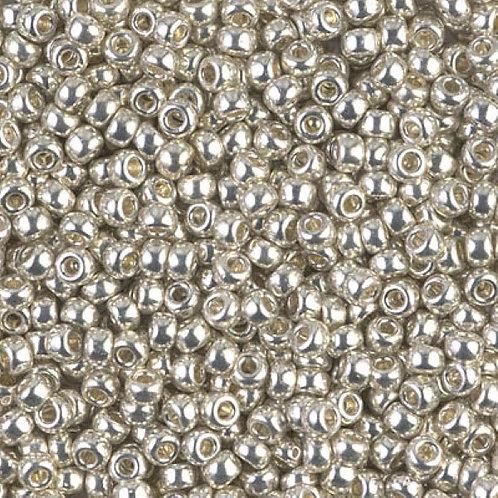 Miyuki Round Rocaille 11/0 - Galvanized Silver