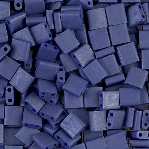 Miyuki Tila Beads 5mm - Matte Cobalt