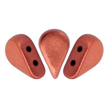 Amos Par Puca by Les Perles Par Puca - Bronze Red Matte 8g