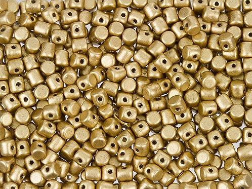 Minos Par Puca Beads -Light Gold Matte 10g
