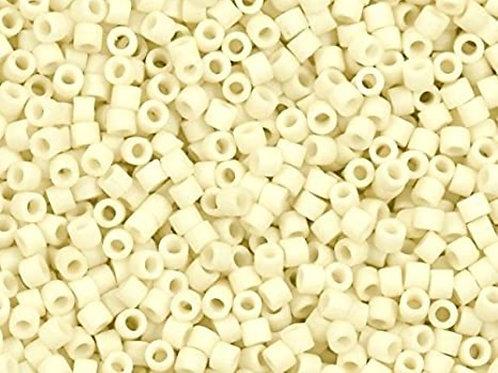 Miyuki Delica 11/0 - Matte Opaque Cream  6.6g