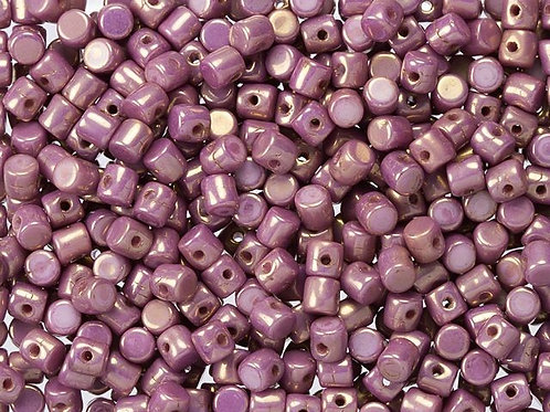 Minos Par Puca Beads - Opaque Mix Violet/Gold Luster 10g