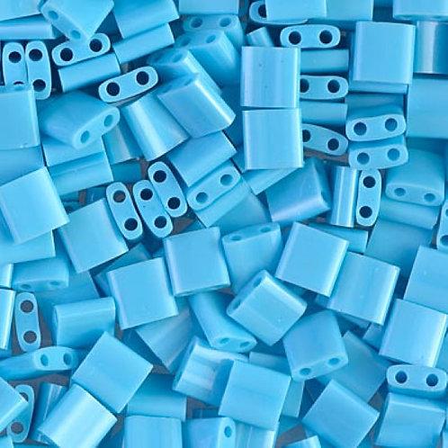 Miyuki Tila Beads 5mm - Opaque Turq. Blue 10g TL413