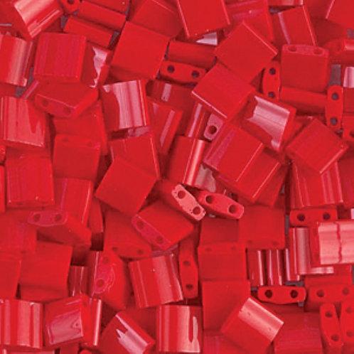Miyuki Tila 5mm Opaque Red TL408