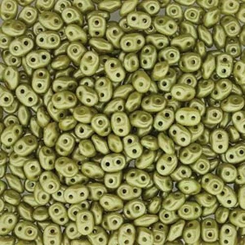 Matubo Superduo Beads - Pastel Lime