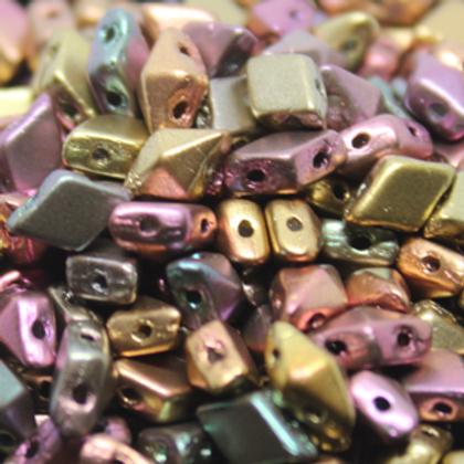 Diamonduo 2-Hole Bead 5x8m ' 10 grams