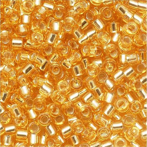 Miyuki Delica 11/0 - Silver Lined Gold 7.2g