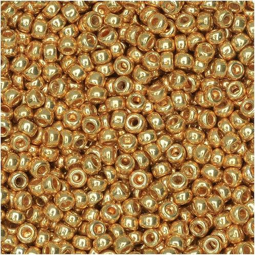 Miyuki Round Rocaille 11/0 - Galvanized Gold