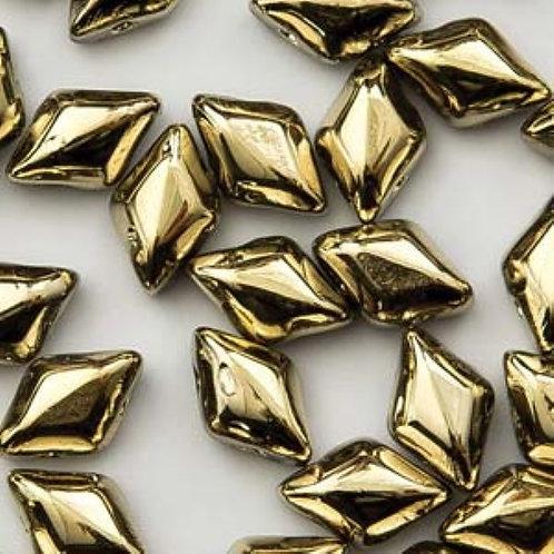 Matubo Gemduo 8x5mm - Crystal Amber