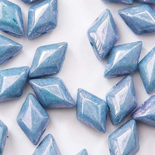 Matubo Gemduo 8x5mm - Chalk Blue Luster