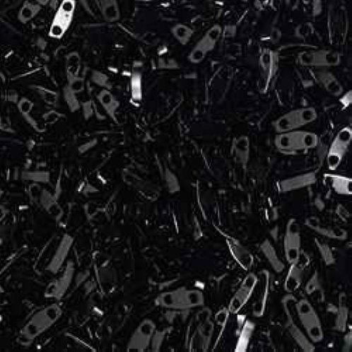Miyuki Quarter Tila Beads - Black QTL401
