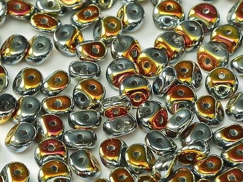 Czech ES-O Beads- Crystal Full Marea 9g