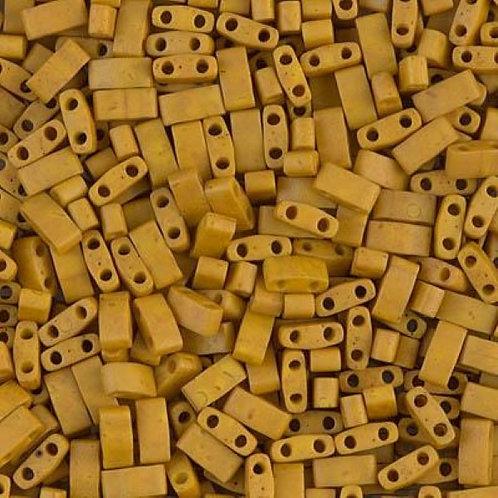 Miyuki Half Tila Beads - Mustard 7.8g