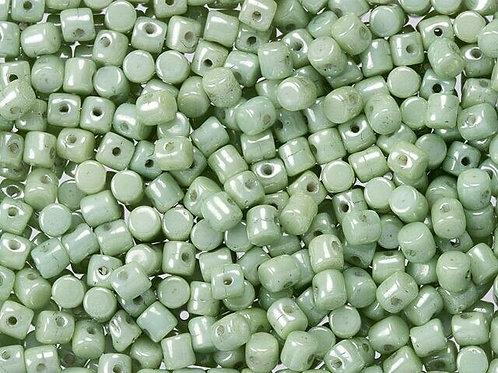 Minos Par Puca Beads -  Opaque Light Green Luster 10glack 10g