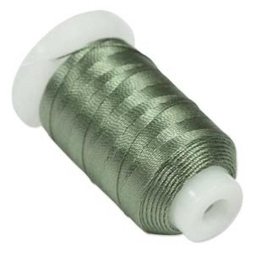 BeadSmith 100% Silk Thread - Size FF - Green